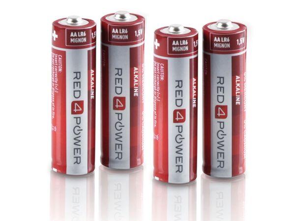 Mignon-Batterie-Set RED4POWER Alkaline