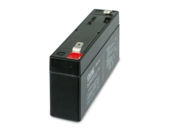 Blei-Akkumulator QUATPOWER LB1.2-6, 6 V-/1,2 Ah - Produktbild 2