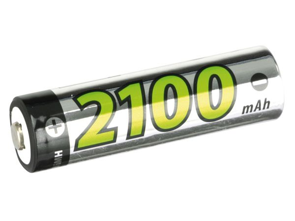 NiMH Mignon-Akkus H+H AMH2100, 2100 mAh, 2 Stück