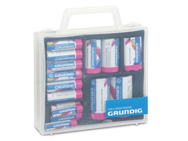 Alkaline-Batterieset GRUNDIG, 23-teilig - Produktbild 1