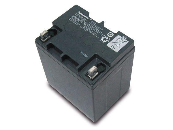 Bleiakkumulator PANASONIC LC-P1224APG, 12 V-/24 Ah, VdS