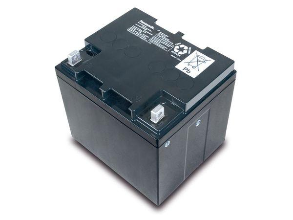 Bleiakkumulator PANASONIC LC-P1242AP, 12 V-/42 Ah - Produktbild 1
