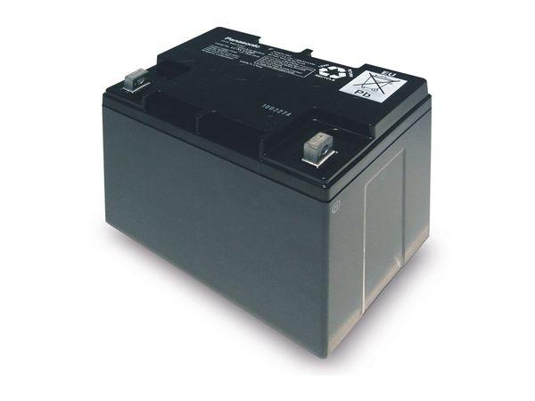 Bleiakkumulator PANASONIC LC-XC1228P, 12 V-/28 Ah, zyklisch - Produktbild 1