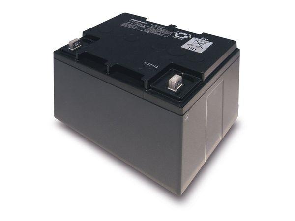 Bleiakkumulator PANASONIC LC-XC1238P, 12 V-/38 Ah, zyklisch - Produktbild 1