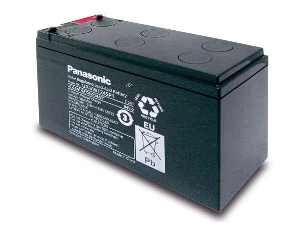 Bleiakkumulator PANASONIC UP-VW1245P1, 12 V-/7,8 Ah - Produktbild 1