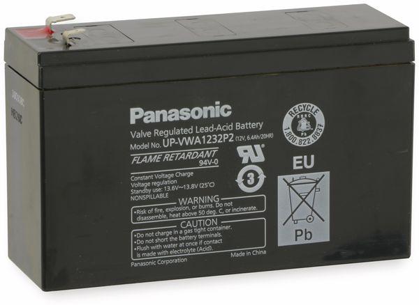 Bleiakkumulator PANASONIC UP-VWA1232P2, 12 V-/6,5 Ah