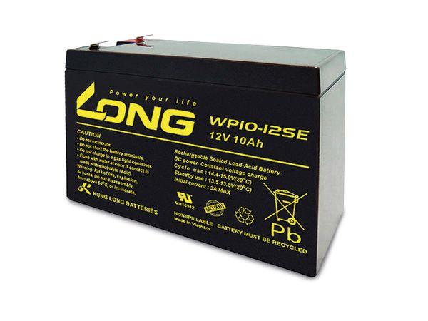 Blei-Akkumulator KUNG LONG WP10-12SE, 12 V-/10 Ah, zyklisch