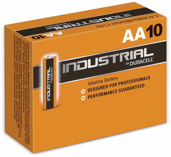 Mignon-Batterien DURACELL INDUSTRIAL, 10 Stück