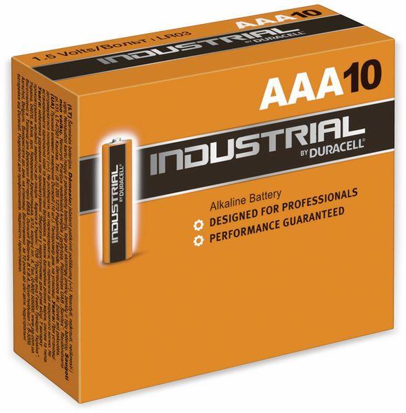 Micro-Batterien DURACELL INDUSTRIAL, 10 Stück
