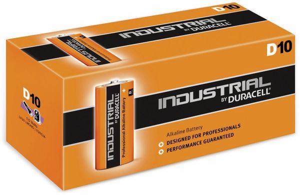 Mono-Batterien DURACELL INDUSTRIAL, 10 Stück