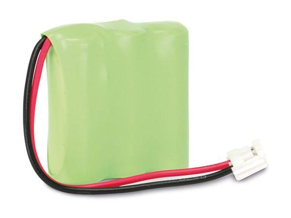 NiMH-Akkupack, 3x 2/3AAA, 3,6 V-/330 mAh - Produktbild 1