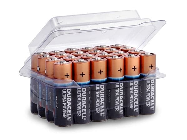 DURACELL ULTRA POWER Mignon-Batterieset, 24 Stück