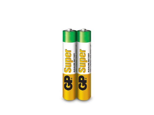Alkaline Mini-Batterien GP, 2 Stück - Produktbild 1