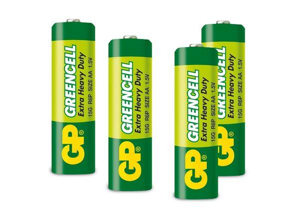 Mignon-Batterie GP GREENCELL, 4 Stück
