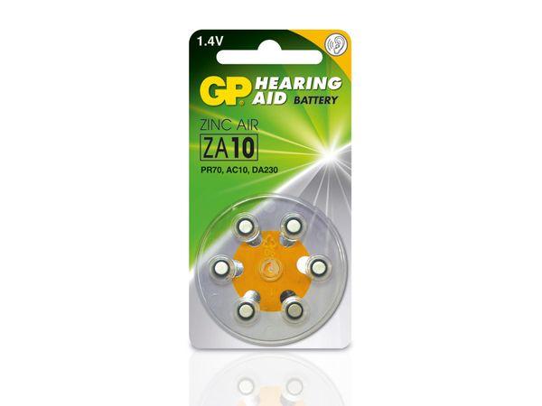 Hörgeräte-Batterien GP ZA10