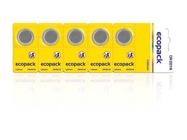 Lithium-Knopfzellen CR2016