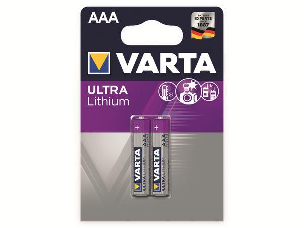 Micro-Lithiumbatterie VARTA Professional, 2 Stück - Produktbild 2