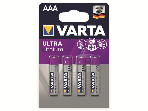 Micro-Lithiumbatterie VARTA Professional, 4 Stück - Produktbild 2