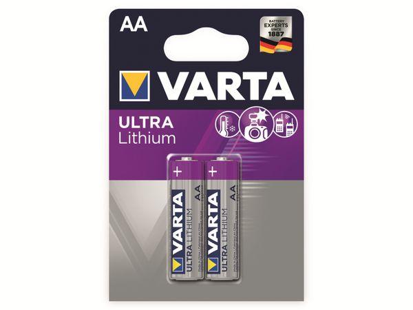 Mignon-Lithiumbatterie VARTA Professional, 2 Stück - Produktbild 2