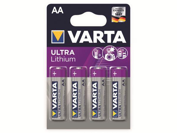 Mignon-Lithiumbatterie VARTA Professional, 4 Stück - Produktbild 2