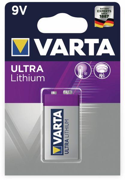 Lithium 9V-Block VARTA ULTRA - Produktbild 2