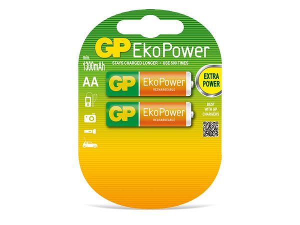 NiMH Mignon-Akku GP EkoPower, 2 Stück