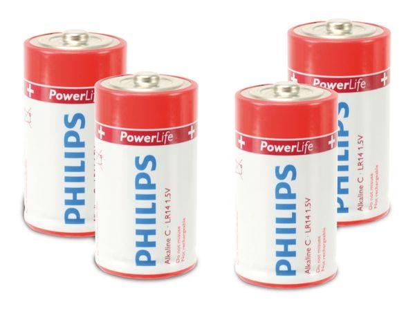 Baby-Batterie PHILIPS PowerLife, 4 Stück