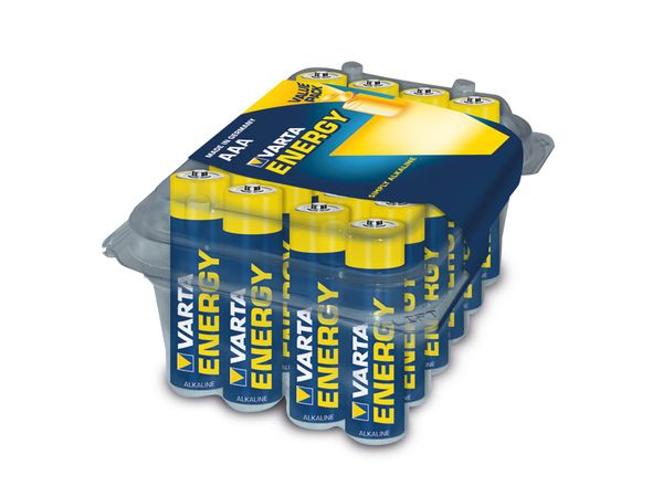 Micro-Batterieset VARTA ENERGY, 24 Stück