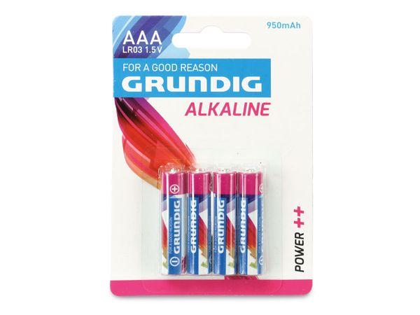 Micro-Batterieset GRUNDIG Alkaline, 40 Stück - Produktbild 1