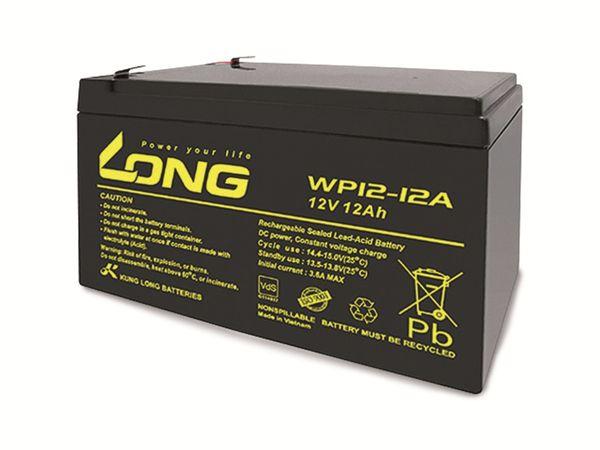 Blei-Akkumulator KUNG LONG WP12-12A, 12 V-/12 Ah