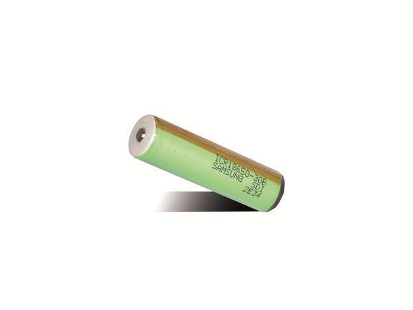 LiIon-Akku SAMSUNG ICR18650-30B PCB, 3000 mAh