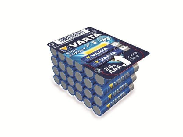 Micro-Batterie VARTA HIGH ENERGY, 24er Box