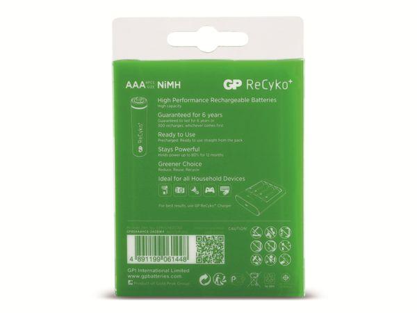 NiMH-Micro-Akku GP ReCyko+, 850mAh, 4 Stück - Produktbild 6