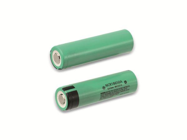 LiIon-Hochleistungsakku PANASONIC NCR18650A, 3070 mAh