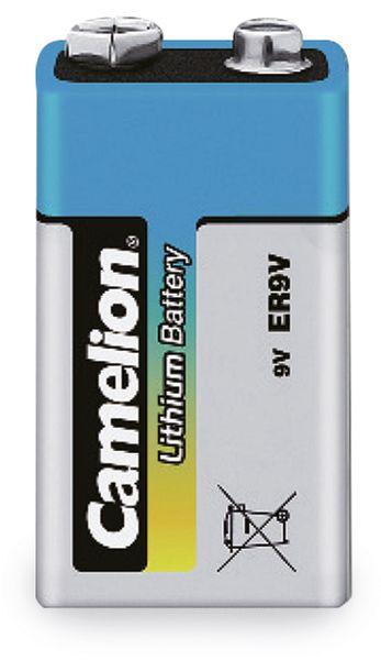 9V-Blockbatterie, Lithium, Camelion CR9, 1 Stück
