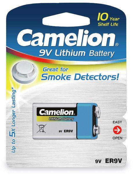 9V-Blockbatterie, Lithium, Camelion CR9, 1 Stück - Produktbild 2