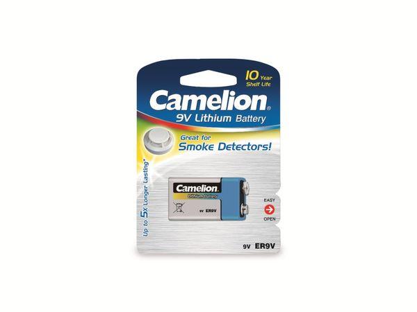 9V-Blockbatterie, Lithium, Camelion ER9, 1 Stück - Produktbild 2