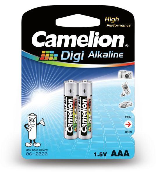 Micro-Batterie, Digi-Alkaline, Camelion LR03, 2 Stück