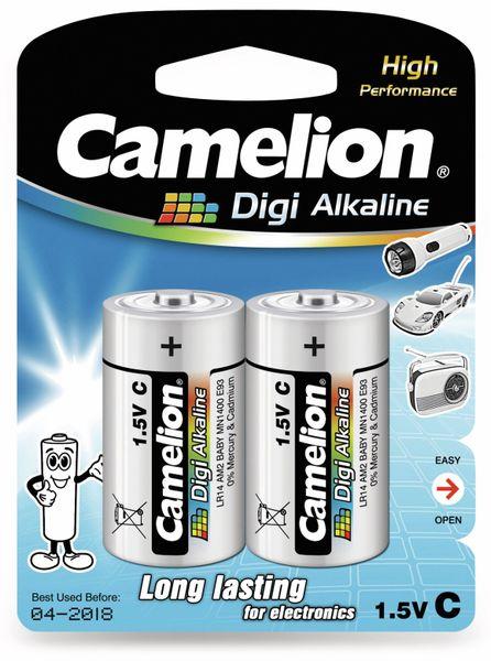 Baby-Batterie, Digi-Alkaline, Camelion LR14, 2 Stück