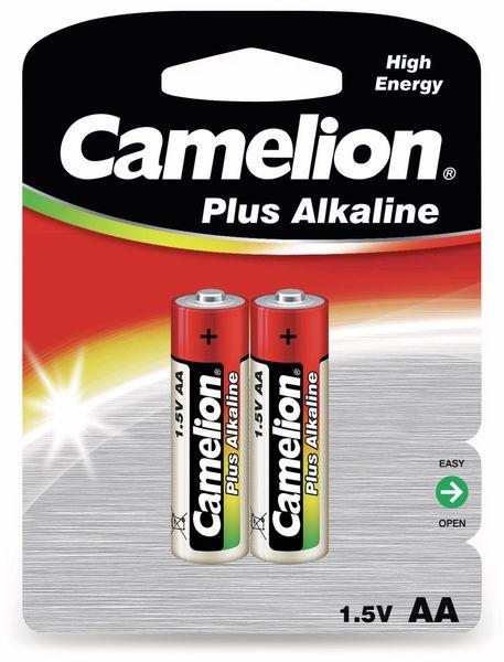 Mignon-Batterie, Plus-Alkaline, Camelion LR6, 2 Stück
