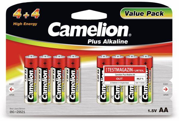 Mignon-Batterie, Plus-Alkaline, Camelion LR6, 8 Stück