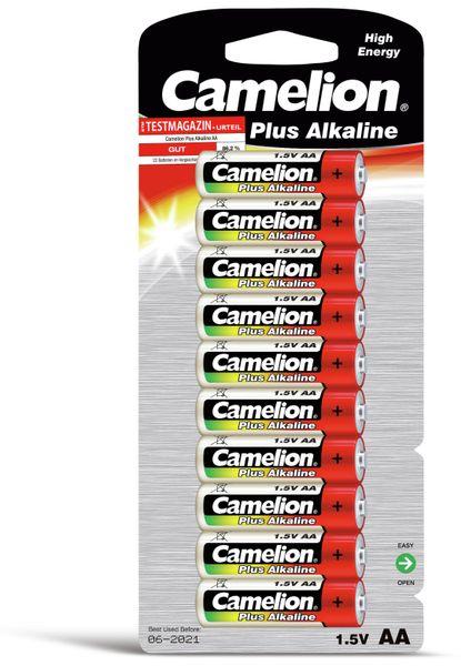 Mignon-Batterie, Plus-Alkaline, Camelion LR6, 10 Stück
