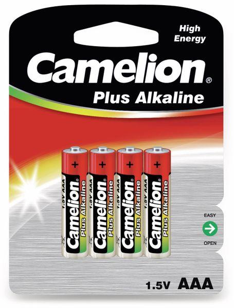 Micro-Batterie, Plus-Alkaline, Camelion LR03, 4 Stück