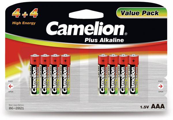 Micro-Batterie, Plus-Alkaline, Camelion LR03, 8 Stück