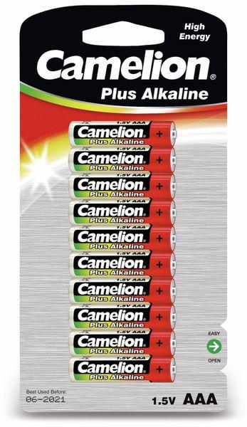 Micro-Batterie, Plus-Alkaline, Camelion LR03, 10 Stück