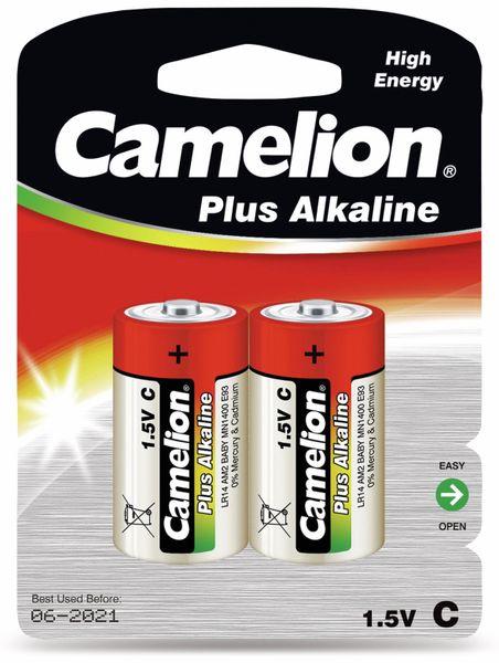 Baby-Batterie, Plus-Alkaline, Camelion LR14, 2 Stück