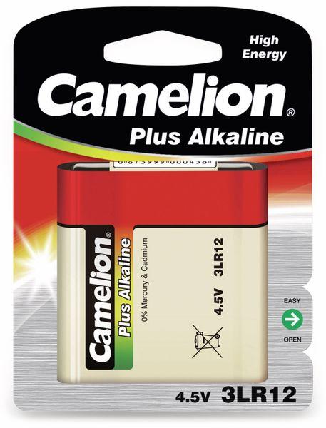 Flach-Batterie, Plus Alkaline, Camelion, 3LR12, 1 Stück