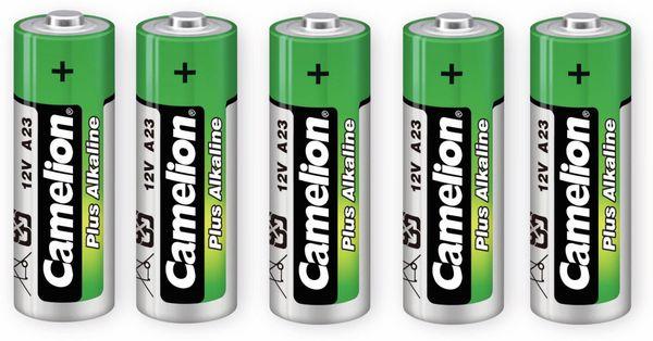12V-Batterie, Plus Alkaline, Camelion A23, 5 Stück
