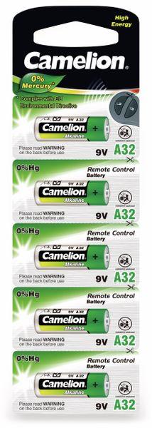 9V-Batterie, Plus Alkaline, Camelion A32 - Produktbild 2