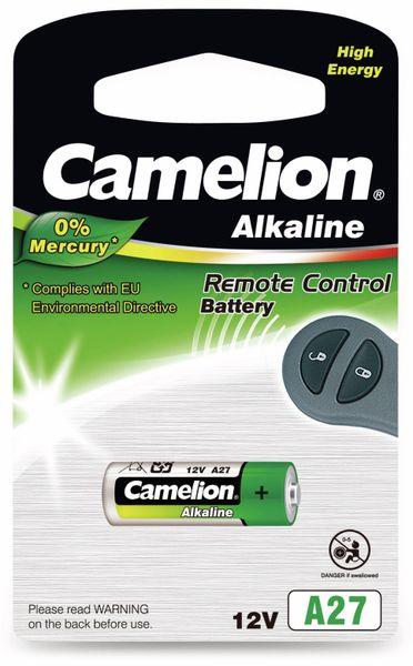12V-Batterie, Plus Alkaline, Camelion A27, 1 Stück